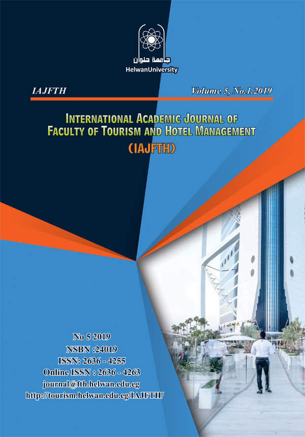 International Academic Journal Faculty of Tourism and Hotel Management